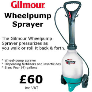 gilmour wheeled sprayer